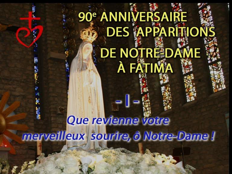 Heure sainte : «Que revienne votre merveilleux sourire, ô Notre-Dame !»