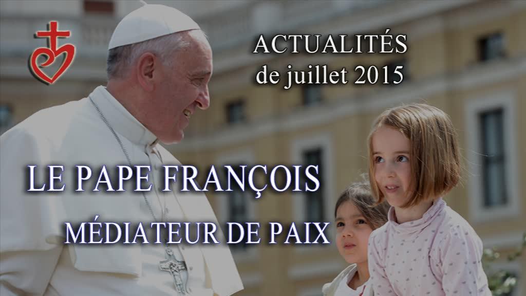 Le pape François médiateur de paix.