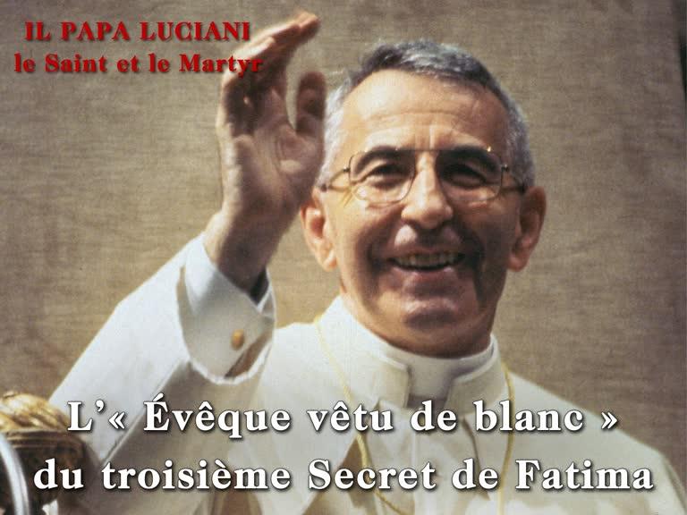 Conférence: L'«Évêque vêtu de blanc» du troisième Secret de Fatima.