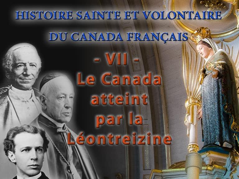 Le Canada atteint par la «Léontreizine».