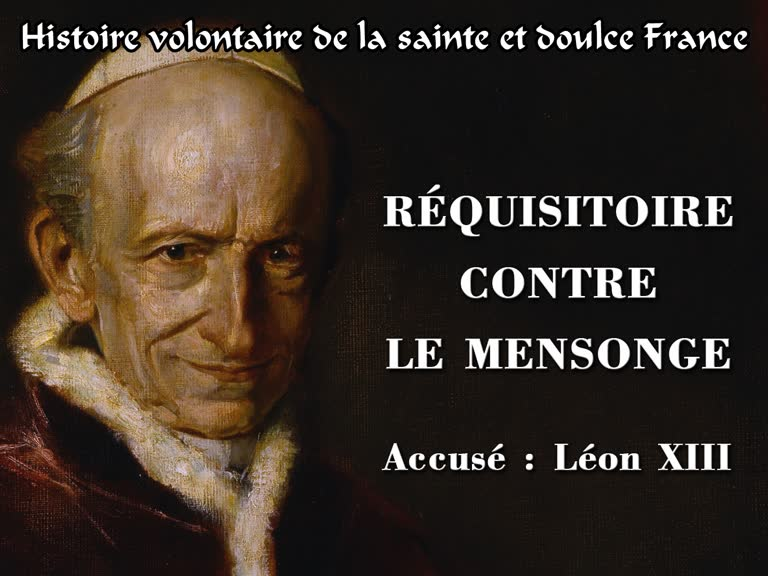 Réquisitoire contre le mensonge