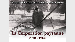 La corporation paysanne (1934-1944)
