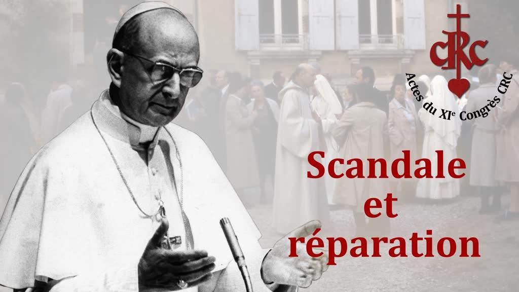 Sermon: Scandale et réparation.