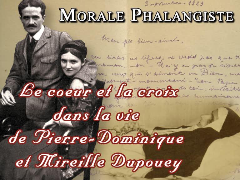 Le Cœur et la Croix dans la vie de Pierre-Dominique et Mireille Dupouey.