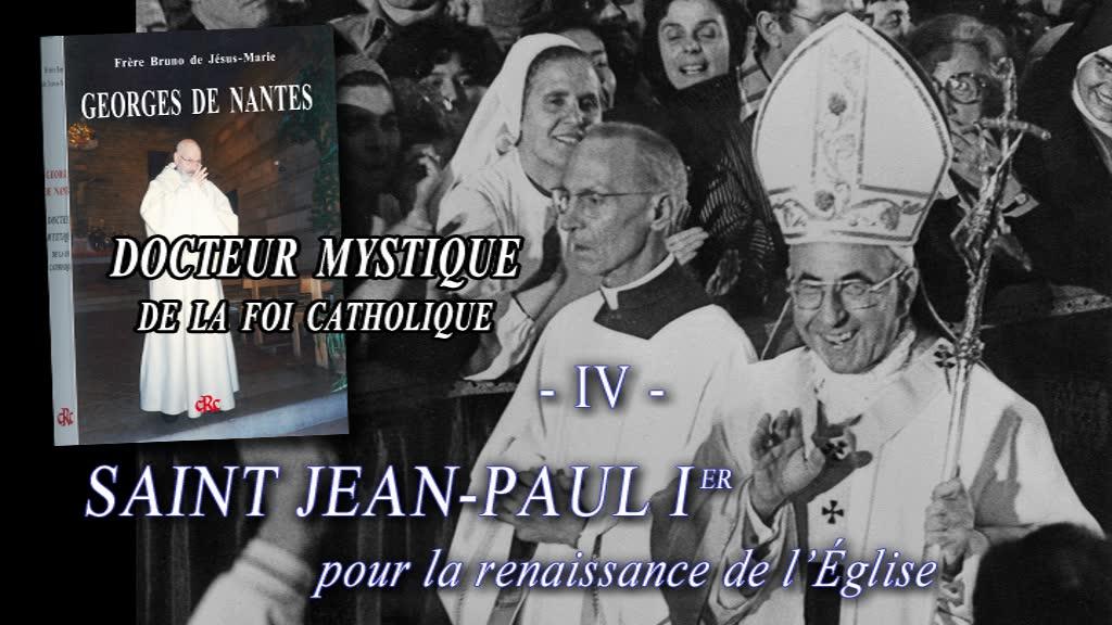 Saint Jean-Paul Ier.