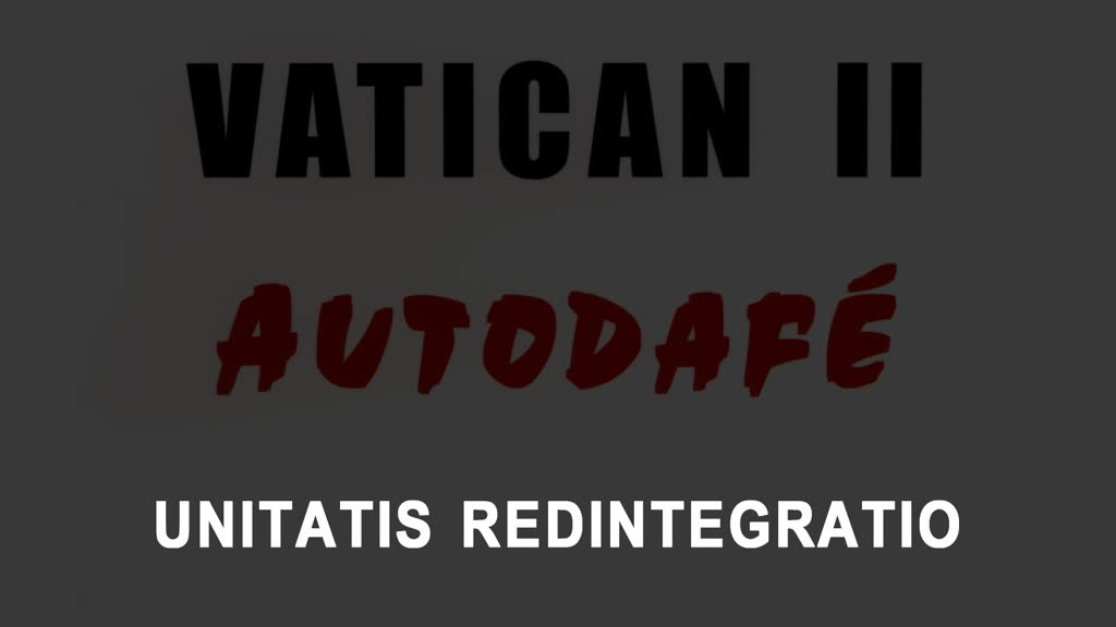 UNITATIS REDINTEGRATIO.