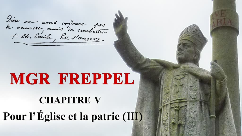Chapitre V: 1884: Pour l'Église et la Patrie (III).