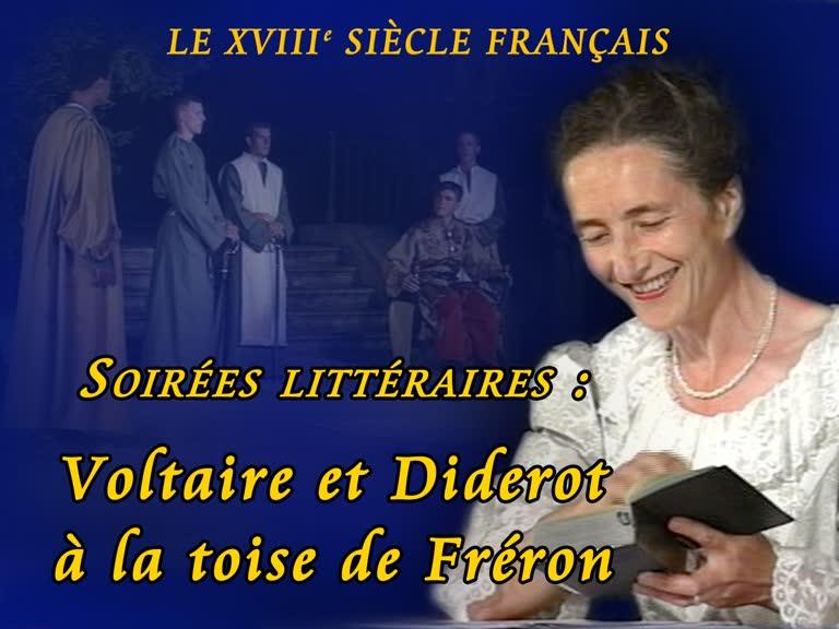 Soirées littéraires : Voltaire et Diderot à la toise de Fréron.