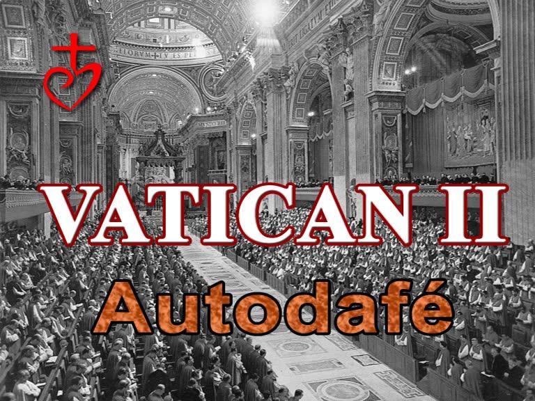 Vatican II : autodafé