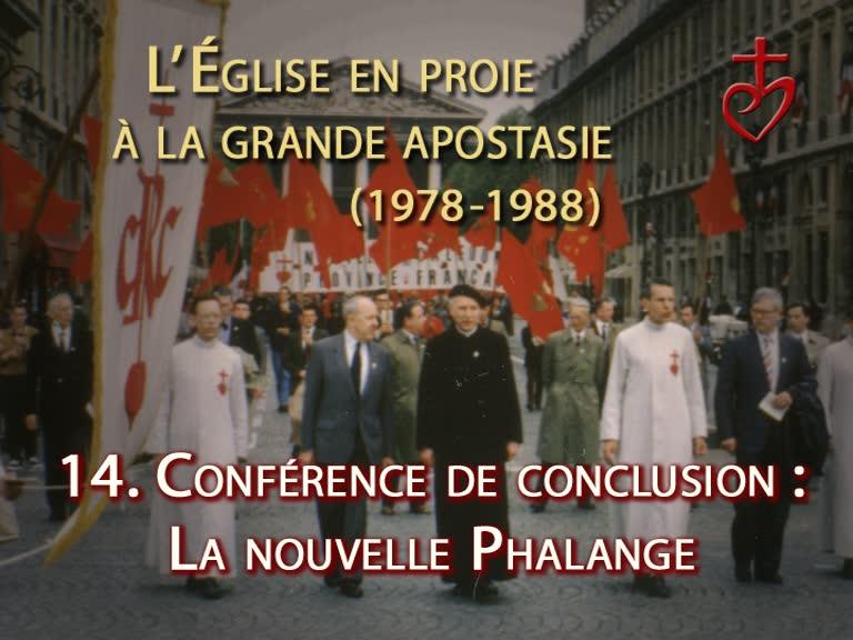 Conclusion : La nouvelle Phalange.