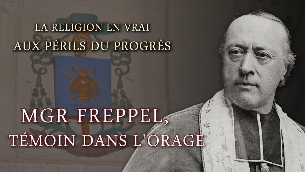 Mgr Freppel, témoin dans l'orage.