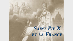 Saint Pie X et la France