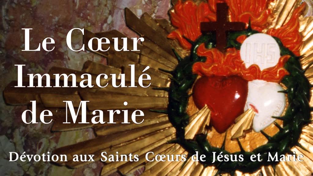 Le Cœur Immaculé de Marie.