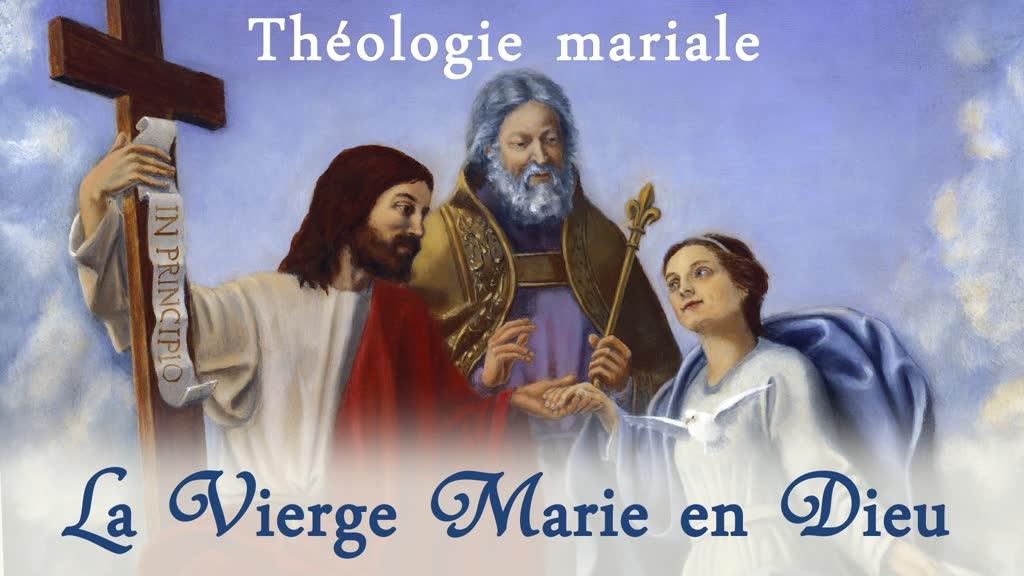 La Vierge Marie en Dieu.