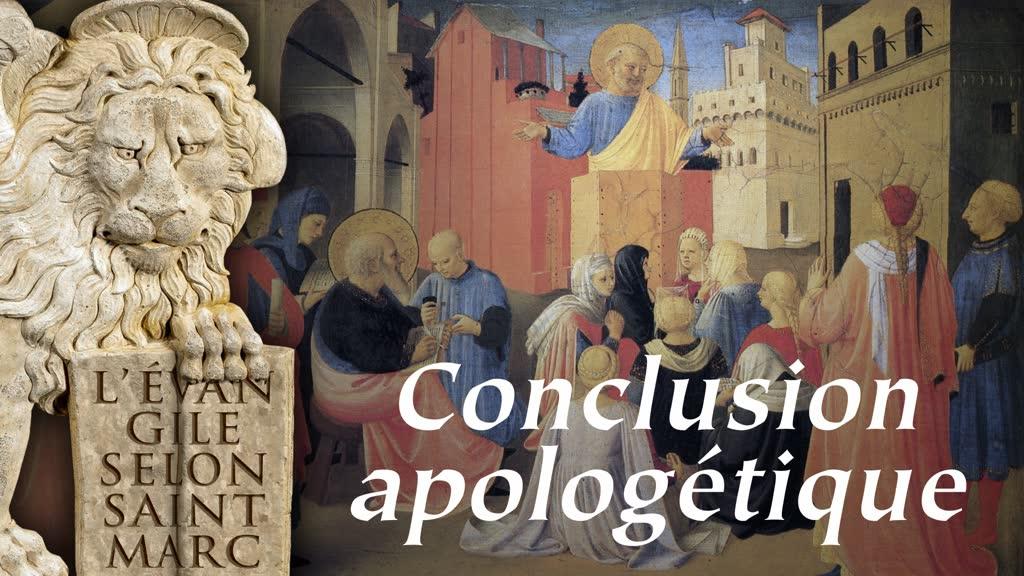 Conclusion apologétique.