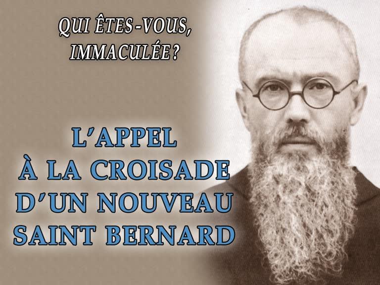 L'appel à la croisade d'un nouveau saint Bernard.