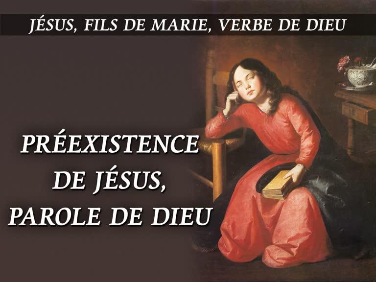 Préexistence de Jésus, Parole de Dieu