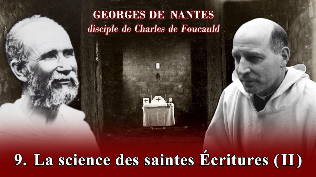 La science des Saintes Écritures (II).